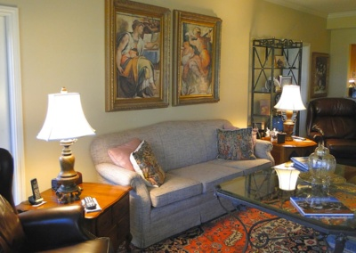 Life's Next Step helped organize and manage family move in Austin including arranging all furniture.